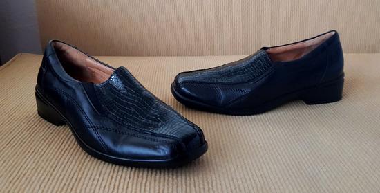 Ganter ženske crne kožne cipele (nenošeno)