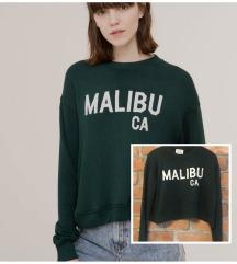 Pull&Bear Malibu crop top majica vel S