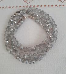 Swar.kristal/ set ogrlica i narukvica