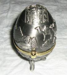 kutija metalna za dekoraciju ili nakit
