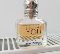 Armani, Because it's you, 30 ml ČITAJ OPIS!