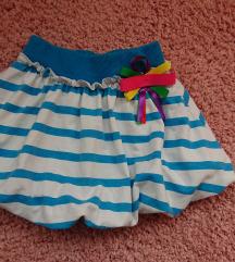 Predivna 'pufasta' suknja br. 92 za bebe / curice