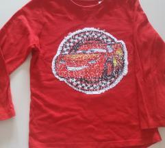 Disney cars 110 116 majica na sljokice