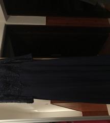 Modra duga svečana haljina