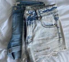 LOT kratke traper hlačice