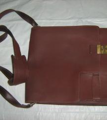 torba vintage prava koža