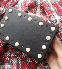 AKCIJA ZARA torbica s biserima