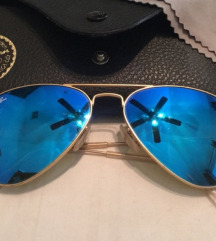 Ray ban blue mirror HITNOO