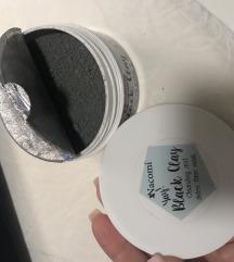 Nacomi glina i ugljen maska