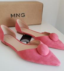 Mango roza balerinke broj 37 NOVE