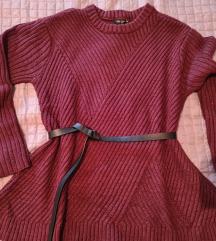 Peplum pulover