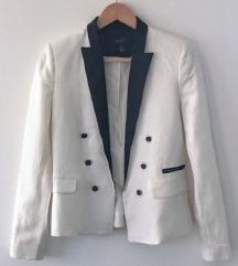Mango suit bijelo crni sako