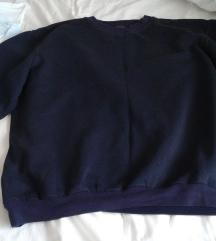 Tamnoplava majca s dugim rukavima