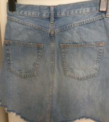 Suknja traper ZARA