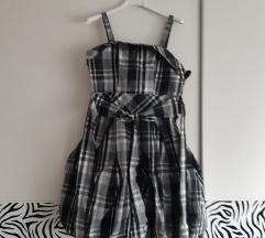 Nova pufasta karirana haljina