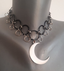 Gothic ogrlica sa polumjesecom