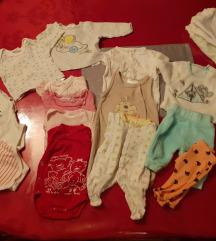Lot za bebe vel 46-50 (pt ukljucena)