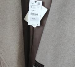 Zara premium vuneni kaput na vezanje NOVO