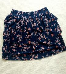 Cvjetna mini suknja