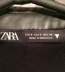 Zara kožna košulja