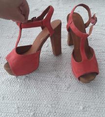 Razne sandale ravne i na petu vel 38, od 30kn