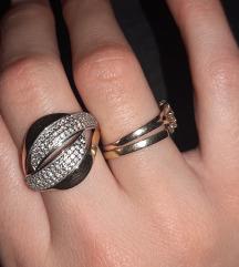 Prsten zlato 585,široki i lijep