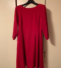 Haljina nenošena šivana po mjeri - XL