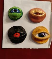 Magneti oči