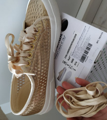 195+pt **Superga 38 gold