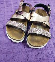 Futti sandale br.24(Gold glitter)