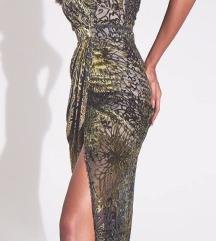 Nova svečana maxi haljina sa prorezom