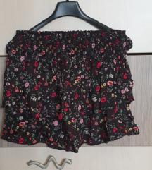 HM mini suknja s cvjetovima