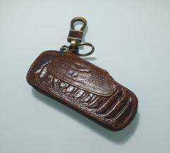 Kožni privjesak/torbica za ključeve