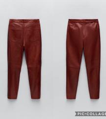 Nove Zara HW hlače od prave kože