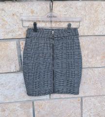 AMISU suknja pepita uzorak - NOVO