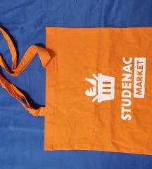 Platnena vrećica / torba za trgovinu