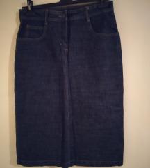 C&A jeans suknja 42