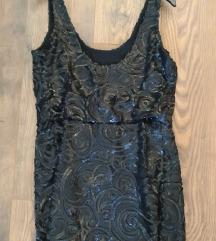 MANGO haljina crna