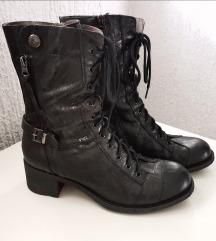 Nero Giardini crne kožne čizme