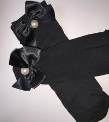 Ženske čarape s biserima