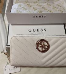 Guess novi bijeli novčanik/original
