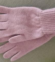 Vunene bež rukavice