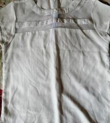 Bijela košuljica kao majica