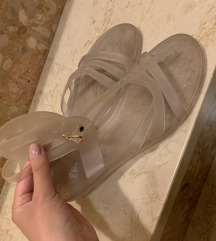 Ancient greek jelly sandals