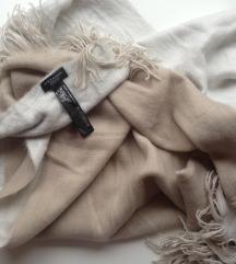 Zara krem šal