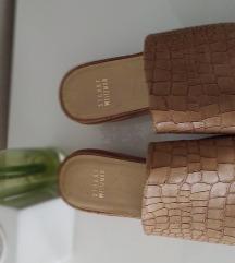Vikend stuart weitzman 38/39 nude papuče natikače