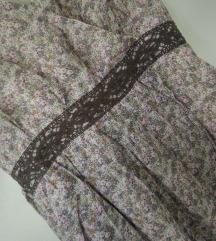 Mango bluza/tunika M,pamuk i svila