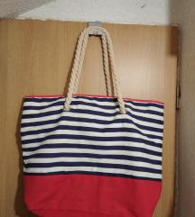 Nova torba i ceker za plažu