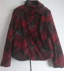 Karirani sako, jaknica, kaputić
