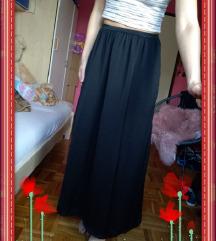 Dugi crni šos/suknja, vel. XXS/XS (32/34)